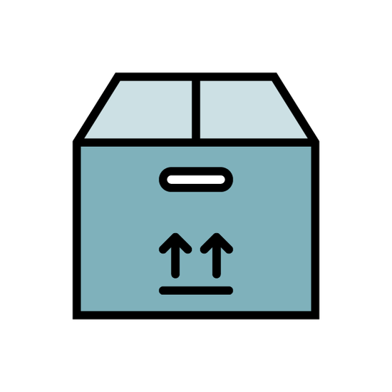 Package icon for the packaging industry