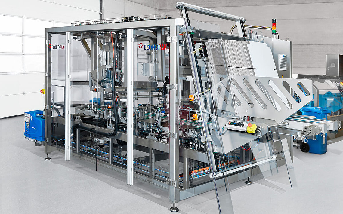 The packaging machine from Econo-Pak.